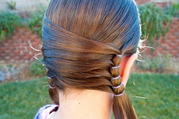 Экзотические рисунки на волосах мастер класс ролики пошагово #4